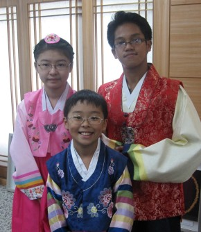 Hanbok at S.Korea