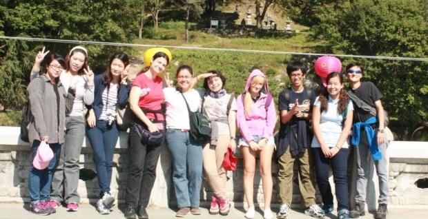 KGSP students Field Trip to Palgongsan
