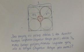 Kasus pada Kubus 2 Dimensi (Persegi)